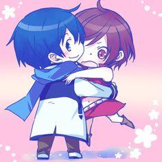 Vocaloid - KAITO & MEIKO <3 cuteee