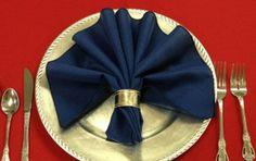 servietten falttechnik elegante stilvolle ideen
