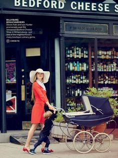 AMERICAN VOGUE 'BONJOUR, BROOKLYN PHOTOGRAPHED BY BOO GEORGE