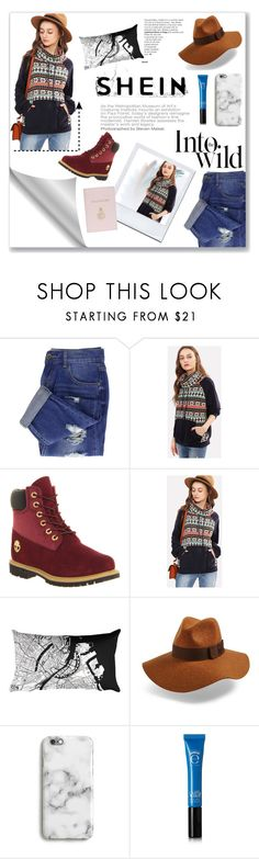 """""""Into the wild"""" by faustipepa ❤ liked on Polyvore featuring Anja, Timberland, Brixton, Harper & Blake, Eyeko and Mark Cross"""
