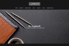Ad: J51 - London by Joomla51 on @creativemarket. Introducing 'London', a powerful Joomla template solution offering beauty in its simplicity. Carefully crafted and lovingly styled, London #creativemarket Pricing Table, Joomla Templates, Professional Website, Layout, Positivity, London, Joomla Themes, Design, Style