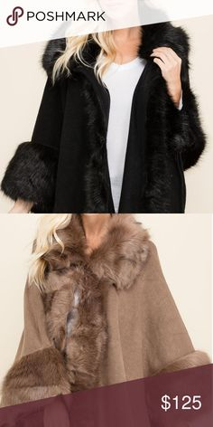 Faux Fur Shaw Beautiful Faux fur Shaw One size fits all Jackets & Coats Capes