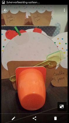 Cupcake Met Kers Traktatie High Tea Feestje Pinterest