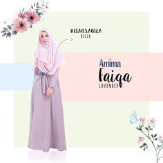 Gamis Amima Faiqa Dress Lavender - baju gamis wanita busana muslim Untukmu yg cantik syari dan trendy . . Size Chart (XS) LD 92 PB 135 (S) LD 96 PB 137 (M) LD 100 PB 139 (L) LD 104 PB 141 (XL) LD 112 PB 144 . . - Material bahan : LINEN BURBERRY LUX seperti katun menyerap keringat dan tidak mudah kusut/lecek ada garis garis serat benang nya sedikit mengkilat bisa buat formal dan daily - Dress yang simple dengan aksen kerah bulat - Manset tangan zipper memudahkan berwudhu - Kantong tersembunyi…