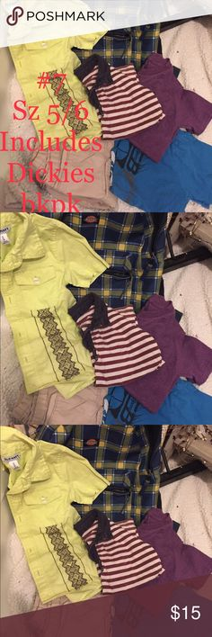 925b34dd09 Boys 5/6 bundle w/ Dickies backpack Bundles of boys clothing! Bundles are  as is, no swapping items. Bundles all include items in EUC and may also  include ...
