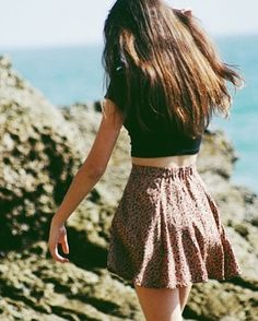 Ideas Skirt Skater Outfit Brandy Melville For 2019 Summer Outfits, Casual Outfits, Cute Outfits, Summer Dresses, Teen Fashion, Fashion Outfits, Fasion, Looks Style, My Style