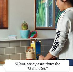 Alexa is happy to help  Make your life easier at home. Use your voice to set timers, add items to lists, and create calendar events and reminders. You can also check the news, weather, or traffic. Ask for sports scores, movie showtimes, restaurant hours, or information. Alexa Speaker, Dolby Audio, Alexa App, Gadget Store, Clock Display, Best Speakers, Smart Home Technology, Track Workout, Tela