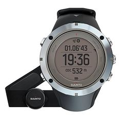 A rugged look and assertive style define this Ambit3 watch from Suunto This watch is designed and engineered for rough and rugged activities The durable 50MM plastic case features a digital dial under an antireflective sapphire crystal and is held together with a black rubber band This reliable...