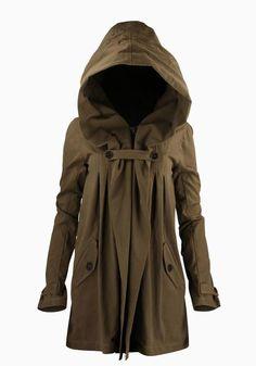Adorable Anthro Hood Jacket Winter Fashion