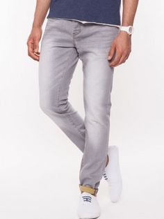 BEING HUMN Light Wash Rinse Slim Jeans buy from koovs.com