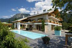 Bergesgrün Sommer Schwimmbad Wellness Ferienwohnung Oberstdorf