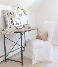 "Lovely Deco: On adore le blanc chez "" Proverbs 31 Girl """