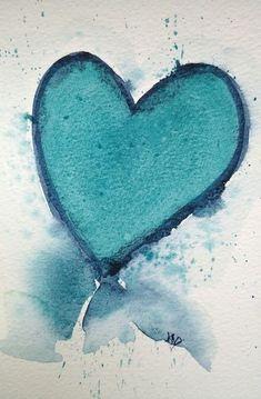 Turquoise Heart à jamais dans mon 💗
