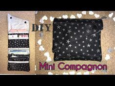 Tuto Couture Mini Compagnon Portefeuille - DIY ⋆ Les Tutos Couture de Viny - Blog de Couture et DIY