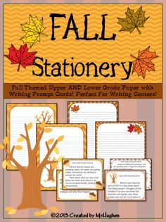 FREE Fall Themed Stationery Printables
