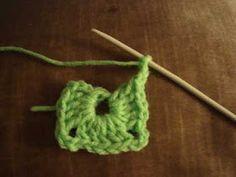 Crochet paso a paso: Cuadrado a crochet - Trend Ideas Crochet Baby Socks, Crochet For Kids, Free Crochet, Knit Crochet, Crochet Projects To Sell, Diy Crafts Crochet, Crochet Braids Hairstyles, Easy Crochet Patterns, Crochet Flowers