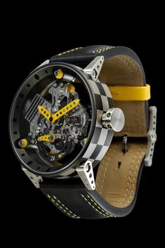 BRM R50 YELLOW and RED, BRM Timepieces and Luxury Watches on Presentwatch
