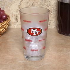 San Francisco 49ers 16oz. Color Change Pint Glass by Boelter. $12.99. Satin etched graphics. 16 oz. Color-Changing Pint Glass. Graphics change once drink is poured. Makes a great gift. Officially licensed. Quench your thirst for all things 49ers with this San Francisco 49ers 16 oz. Color-Changing Pint Glass. Made by Boelter, this glass features satin etched color changing graphics and is decorated in vibrant team colors. Make sure your cupboard is stockpiled with this p...