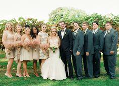 Crossing Vineyards Winery Wedding  Read more - http://www.stylemepretty.com/2014/02/21/crossing-vineyards-winery-wedding/