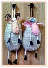 Новогодняя овечка. - Buscar con Google