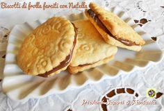 Biscotti di frolla farciti con Nutella   Blog Profumi Sapori & Fantasia