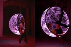 future bubble chair Rousseau & LED illuminated Bubble Chairs by Rousseau | Bubble chair Game rooms ...