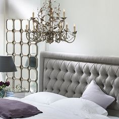 Giselle Tufted Headboard by Ballard Designs  I  ballarddesigns.com