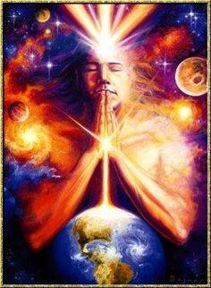 """Juntos, reunidos em uma intenção de ancorar Luz e amor para esse momento tão abençoado que a Terra está passando, vamos a cada dia nos respeitarmos cada vez mais  cuidando para que as nossas palavras ao serem dirigidas ao nosso próximo não soem agressivas e deselegantes. Nós movimentamos um poder tremendo neste momento,  toda vez que falamos algo, que questionamos algo, que concordamos com algo nós movimentamos uma grande energia. """"O Amor e a serenidade é o caminho""""."""