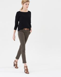 Pantalon battle kaki Darcy 1 1.2.3