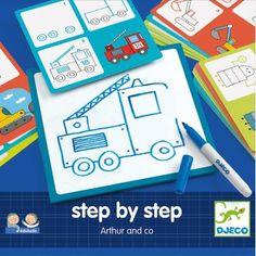 Djeco Step by Step - Arthur and Co 3-6 jaar