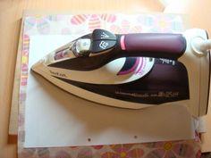 Ako si vyžehliť servítky na balenie darčekov :-)  / Belle » SAShE.sk - slovenský handmade dizajn