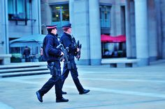Police hostility only existant in the UK due to the overwhelming knowledge of the UK being on its highest ever terrorist alert.
