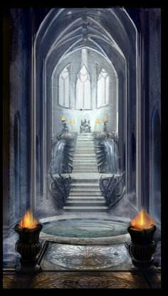 Odin's Throne by ~BurningBrushGallery #norsemythology #aesir #asgard