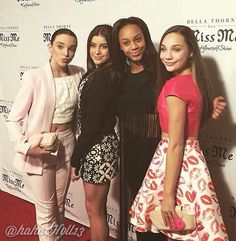 Added by #hahah0ll13 Dance Moms Kendall Vertes, Kalani Hiliker, Nia Sioux Frazier, and Maddie Ziegler