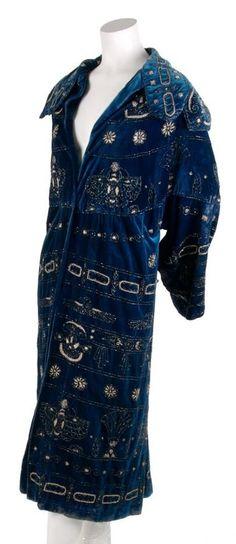 1923 Egyptian Revival style coat