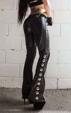 Image of TOXIC VISION Spiritchaser drainpipe pants