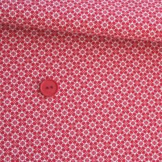 Fagric Rehab - Vintage Basics Tiny Tile Red