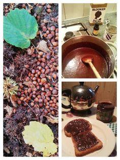 ☆ HAZELNOOT-CHOCOLADEPASTA Ingrediënten : - 150 hazelnoten (+/- 200 gram noten) - 4 a 5 eetlepels cacao - 4 à 5 eetlepels suiker - 300 ml volle melk - of 1 blikje gecondenseerde melk (i.p.v. melk en suiker) Bereiding: Kraak de noten en rooster de noten in de oven (160 graden) tot de vliesjes er gemakkelijk af te halen zijn. Maal de noten. Roer de cacao, een beetje melk en het suiker in een pannetje tot een dik mengsel. Doe de noten en rest van de melk erbij en warm het memgsel op. Laat het…