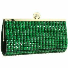 Carrie, Green Clutches, Estilo Grunge, Kate Spade Clutch, Green Fashion, High Fashion, Emerald Green, Emerald City, Clutch Purse
