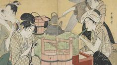 Paris - Peintures ukiyo-e du musée Idemitsu de Tokyo, Japon