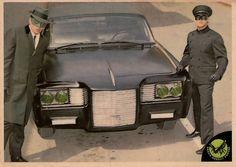 The Green Hornet Gum Card (1966, Donruss)