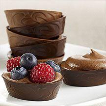 10 Ideas for Chocolate Dessert Cup Creations