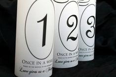 Table Numbers Fairytale Wedding Fairytale Table by SweetSights