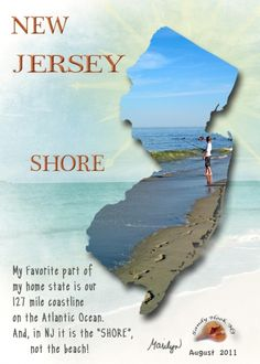 """New Jersey Shore"" - such fun trips down the shore!! Cape May or Ocean City, NJ.  Wonderful memories!"