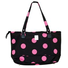 Jenni Chan Dots 17 Inch Laptop Computer Tote Bag Black and Pink for sale online Luggage Store, Luggage Bags, 17 Laptop, Laptop Tote Bag, Best Deals On Laptops, Computer Bags, Laptop Accessories, Black Tote Bag, Laptop Tote