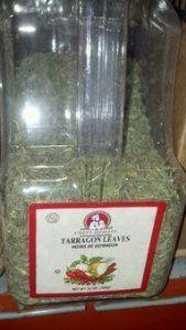 Chef's Quality Tarragon Leaves 10 OZ
