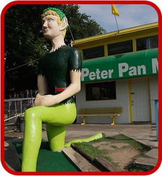 People love Putt Putt - it's a fact. People also love Peter Pan, giant fake T-Rex's and BYOB Golf. So make some time for Peter Pan Mini Golf.
