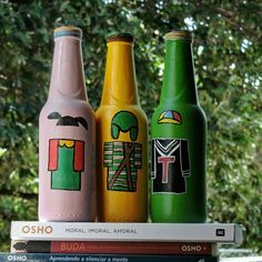 ♡ #garrafasdecoradas #garrafapersonalizada #garrafas #garrafaspersonalizadas #Poscas #MundoPosca #PoscaBrasil  #33crew  #canetaposca #eco #janela #feitoamao #artesanato #amor #decoração #presente #Chaves #Chiquinha #Kiko #turmadochaves