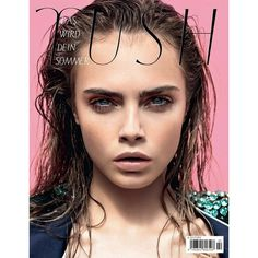 Cara Delevingne Tush magazine found on Polyvore
