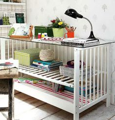 Articles :: 12 Creative Ways to Recycle Baby Furniture -
